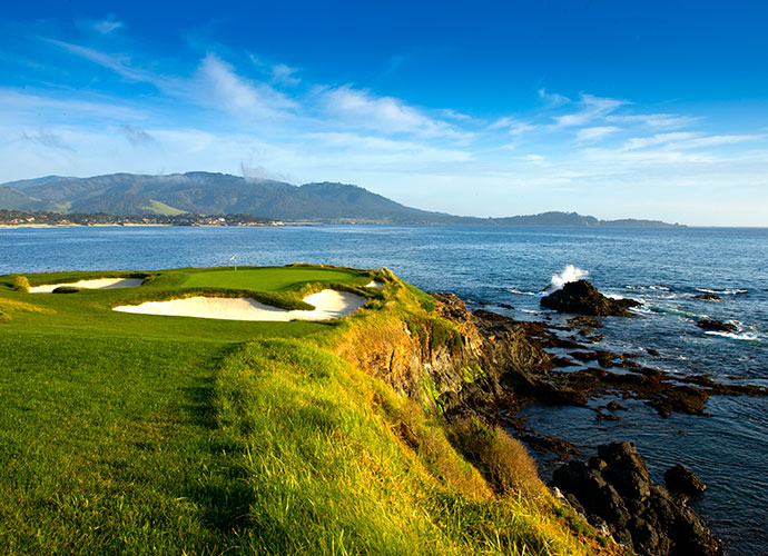 Pebble Beach Golf Links Pebble Beach, Calif.; Jack Neville/Douglas Grant (1919) -- $495-$530, pebblebeach.com