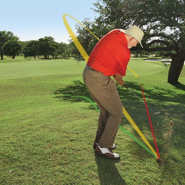 GO-TO SHOT 4 From Behind a Tree                                              The Situation                                              You cut your drive off the tee on a short par 4 and it landed behind a tree roughly 150 yards from the green. The tree is blocking your line to the flagstick. You've pulled off a miracle from this lie before, but today you need only to escape and walk off the green with a 5 to win.                                              The Go-To Shot You Need                                              One that will get you clear of the obstacle and in the hole in three shots or less at least 80 percent of the time.                                              30% The percentage of golfers who can produce low-trajectory shots that fly at the height they planned. The other 70 percent tend to either hit these shots higher than desired, or they hit grounders that get caught up short in rough or high grass.
