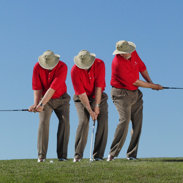 ULTRA-SAFE                                              9-IRON CHIP-OUT                                              Hitting a simple pitch back to the fairway with your 9-iron leaves you a full 9-iron to the green.                                              BEFORE YOU GO FOR IT...                                              Make sure you don't chip out too far and into new and different trouble, or leave the shot too short and in the same trouble you started from.