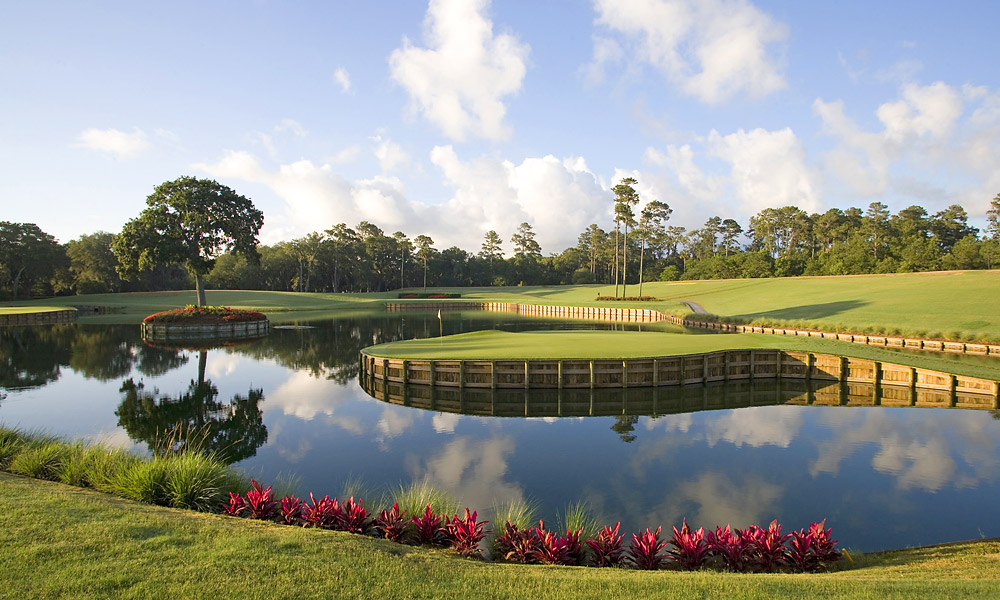 "FEAR FACTOR                       My most controversial hole, the 17th at TPC Sawgrass, was Alice's idea. When we built the Stadium course at the TPC [in 1980], I kept digging and digging in a low, swampy area. We ended up with a great big hole. I said, ""What do I do now?"" Alice said, ""Make an island green that plays 130 yards."" The green is 5,000 square feet. You should be able to hit it. But something happens to these great players at 17. They think about it and hit poor shots. First time I played it was with Alice. I hit an 8-iron to the middle. I said, ""This isn't too hard."" She said, ""It's different when the only people watching are your wife and a frog."" The next one I put in the water."