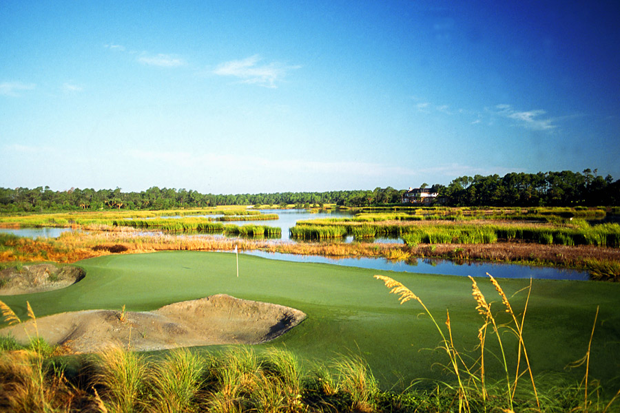 """SHORE THING                   Kiawah's 13th hole. I've been working [on the Ocean Course] for a year and a half, getting it ready for the PGA Championship in August. I put in back tees that I thought would never be used. [PGA course-setup czar] Kerry Hague said, """"We're gonna use these tees."""" I'm looking forward to a great PGA Championship at the Ocean Course."""