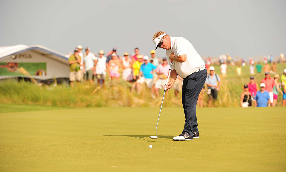 Carl Pettersson                       Pettersson has used a long putter his entire career, and it helped him contend at the 2012 PGA Championship before Rory McIlroy took control and won. He had six top-10 finishes in 2012 and won the RBC Heritage in April.