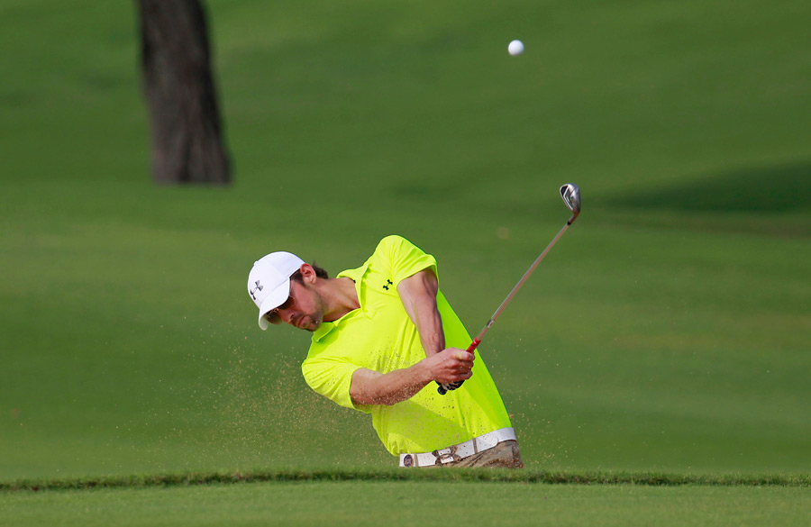 Michael Phelps, who is working with Hank Haney, continued his golf tour after retiring from swimming.