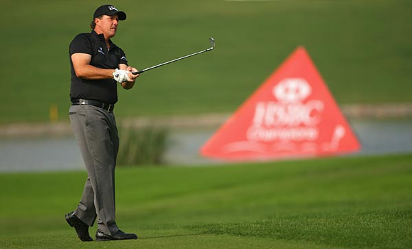 Phil Mickelson was last year's winner in Shanghai.