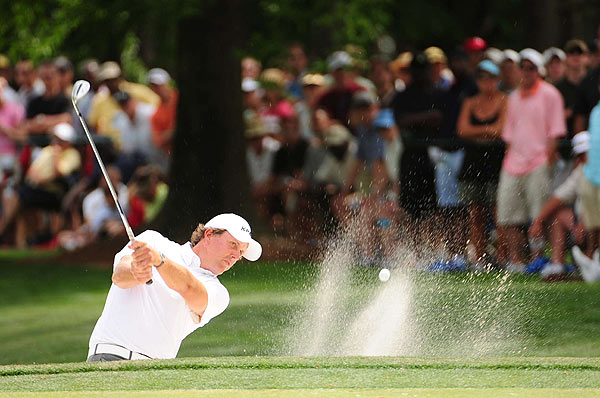 Phil Mickelson now has five top-12 finishes in six starts at Quail Hollow. The final three holes have made it hard for him to win. In 24 rounds, Mickelson is a combined 57 under on the first 15 holes, but 23 over on the final three. This week, he was 11 under on the first 15, but three over on the final three.