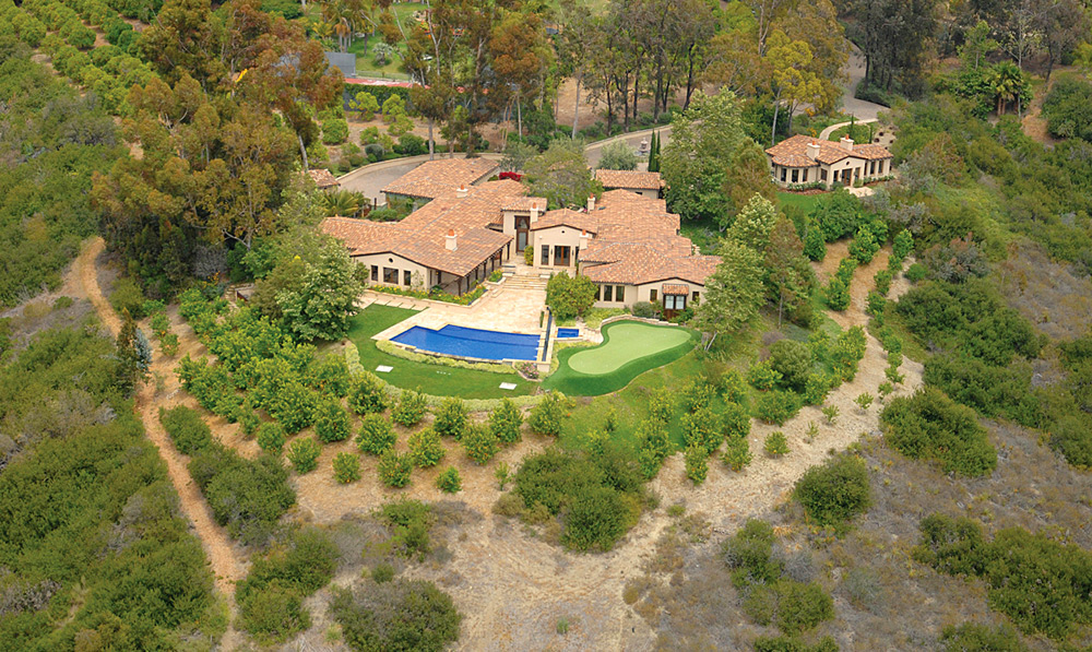 Phil Mickelson's home in Rancho Santa Fe, Calif., can be yours for $7.095 million. Not surprisingly, it includes a putting green.