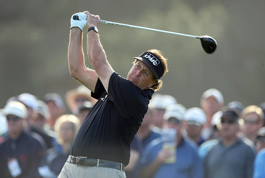 Phil Mickelson shot a 68, but he missed the cut at Torrey Pines for the first time in 10 years.