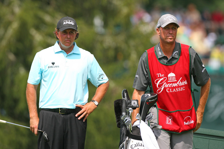 Phil Mickelson also missed the cut. It's the first time Woods and Mickelson missed the cut in the same event.