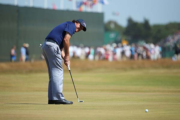 """I feel that I've kind of keyed in on something, and I don't really want to share.""                     --Phil Mickelson on his new putting secret."