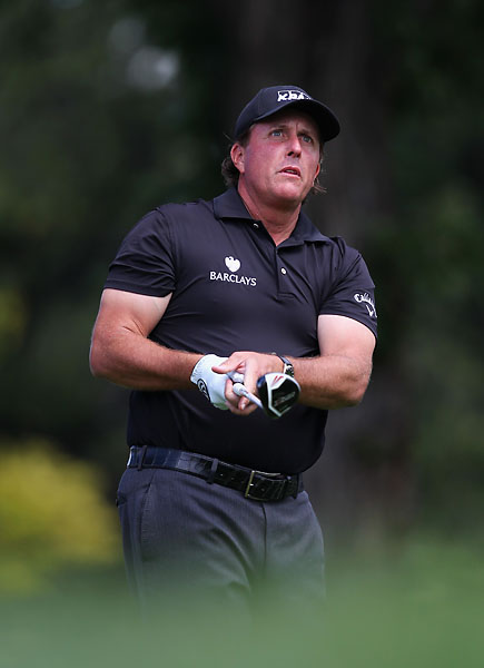 """From a player's standpoint, it's extremely fun to play.""                       --Phil Mickelson on Cherry Hills after the first round of the BMW Championship. He withdrew the next day after shooting 76 in the second round."