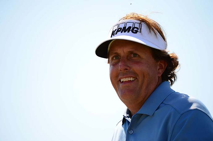 """I don't play at my highest level every single week. I have kind of ups and downs, and I'm a very emotional player.""                       Phil Mickelson on why he might play fewer events in 2014."