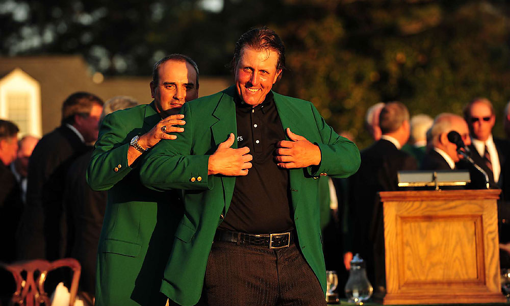 Phil Mickelson, 2010 Masters