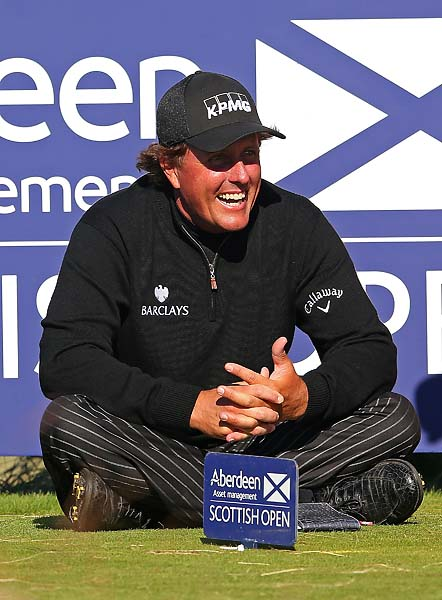 """I really enjoy as I get older and appreciate what each major championship provides as far as an opportunity and a life experience, and I just cherish it.""                         Phil Mickelson on whether winning the U.S. Open is more important to him than the British Open."