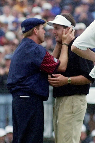 Mickelson lost the 1999 U.S. Open by one stroke to Payne Stewart. It was the first of six second place finishes in the U.S. Open for Mickelson, who has never won the event.