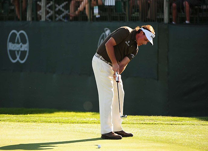Mickelson won the Phoenix Open last month.