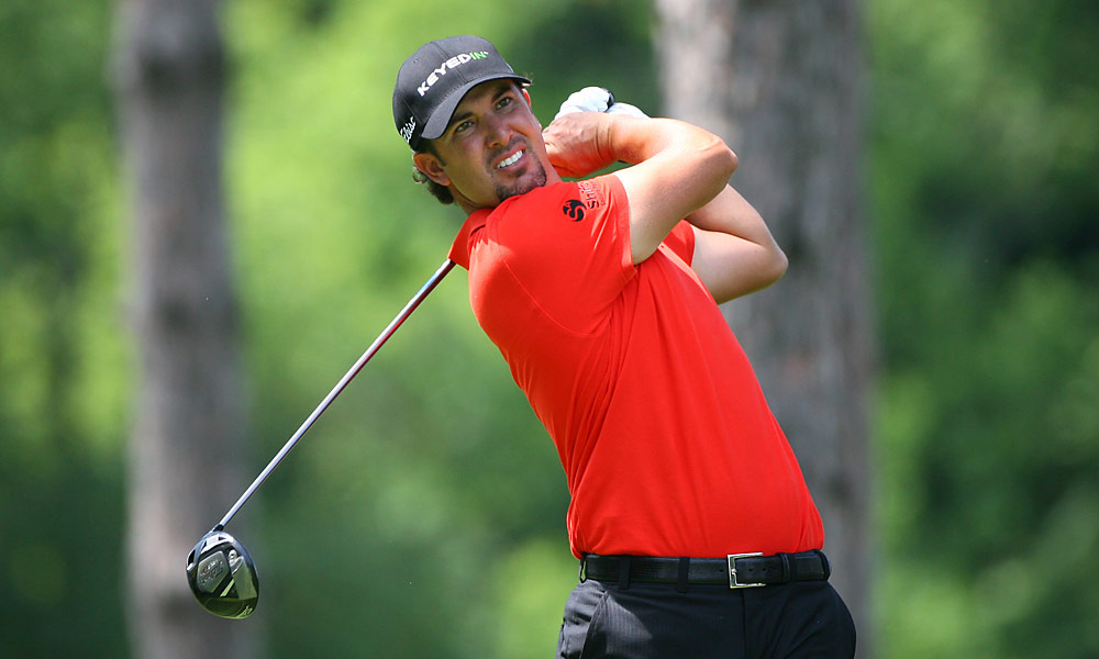 Scott Piercy shot a 67 and is in sole possession of third place, two off the lead.
