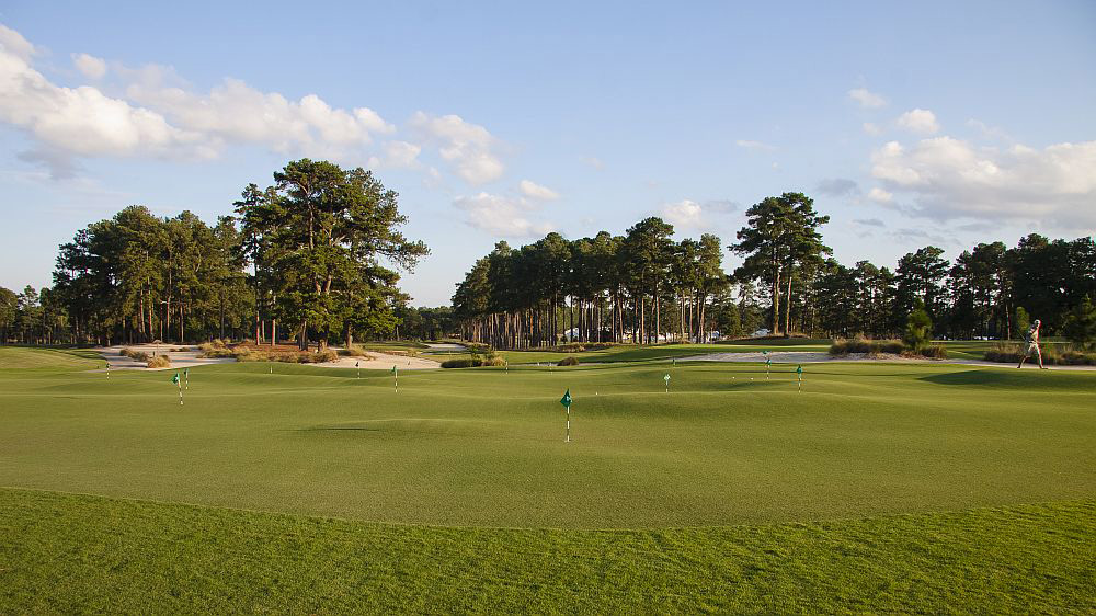 The Thistle Dhu 18-hole putting course debuted Aug. 31 at Pinehurst Resort.