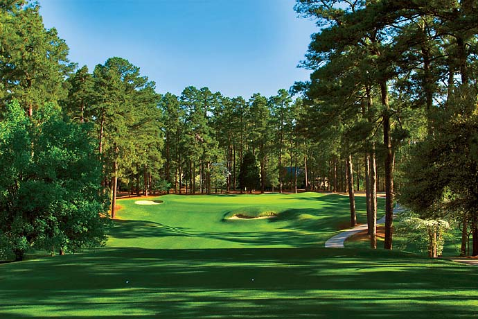 No. 4: Pinehurst No. 2, Pinehurst, N.C.                       (No. 16 on Golf Magazine's Top 100 Courses in the World)