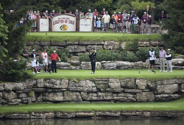 @GaryPlayer: Always fun when @JackNicklaus and I get together, but competing this week at @BigCedarLegends was real a thrill.