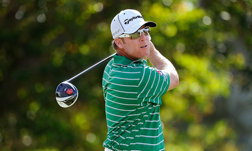D.A. Points moved into contention with a six-under 64.