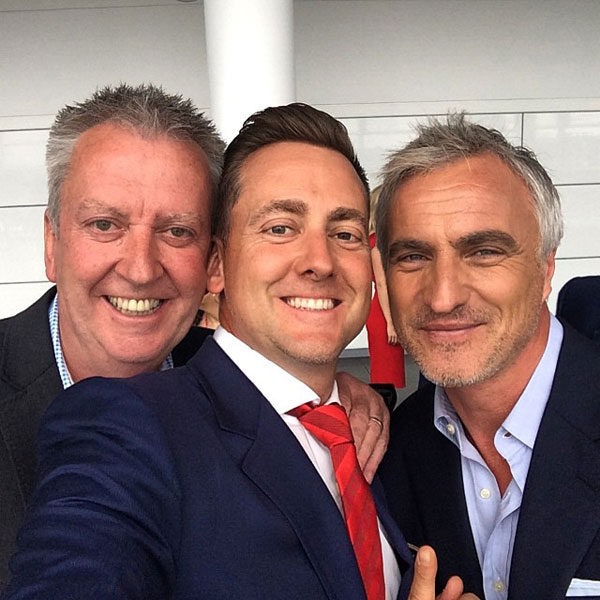 @IanJamesPoulter: Even David Ginola was happy with an Arsenal win.... No that pic was before the game. Hahaha ledge.