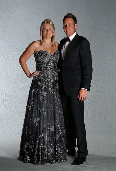Ian Poulter and his wife, Katie.