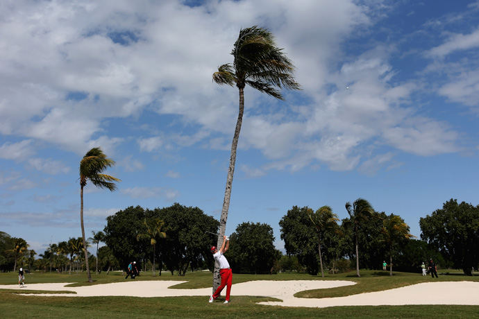 In seven starts at Doral, Ian Poulter has yet to record a top 10.