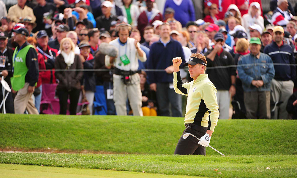 Poulter, among the most passionate Ryder Cup players, seems to raise his game to a new level at the biennial competition.