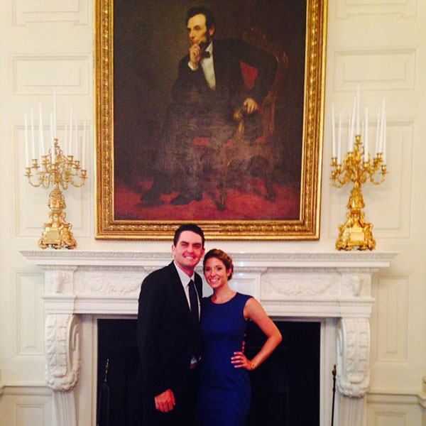 @keeganbradley: Amazing day with this girl @jillianfstacey at the White House! Dream come true #shespretty