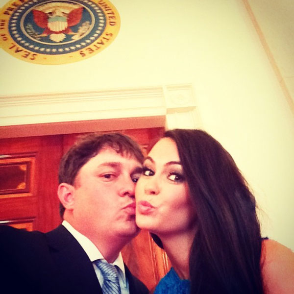 @aduf99: Just a selfie at the White House. #presidentscup#obama #dufners