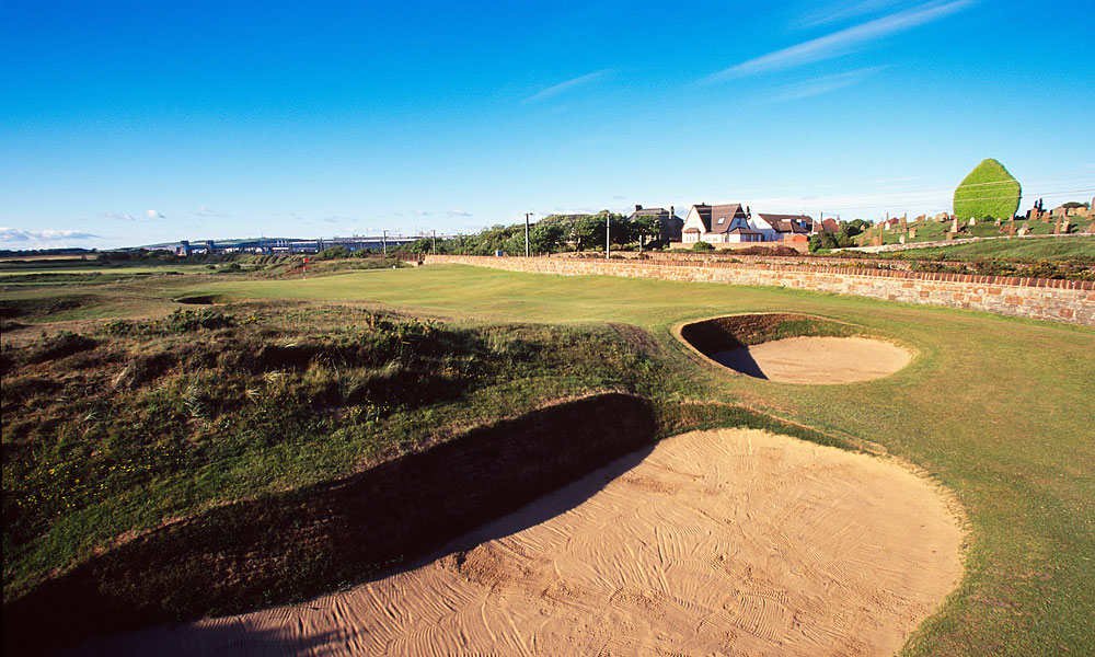 Prestwick                       Twenty-four Opens have been contested on this quirky links that has long since become obsolete for major championship play. The first 12 Opens were held here, but it hasn't been back since 1925.