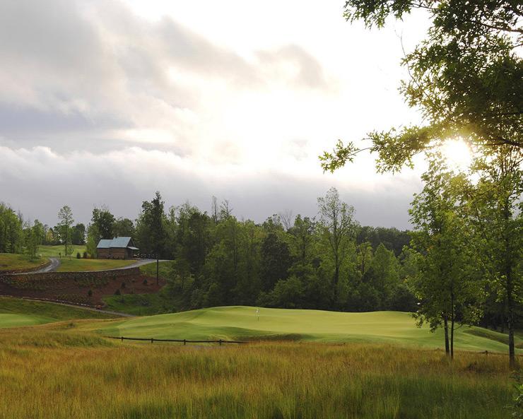 36. The Highland Course at Primland Resort                      Meadows of Dan, Va. -- $125-$200, primland.com