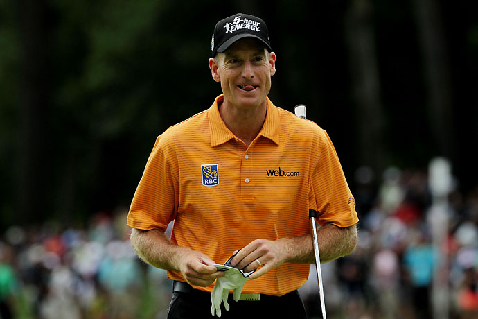"""""""When you have chances of winning and you don't do it, you almost become slightly psycho.""""                      --Johnny Miller on Jim Furyk and Rickie Fowler's maddening seasons of near-misses."""