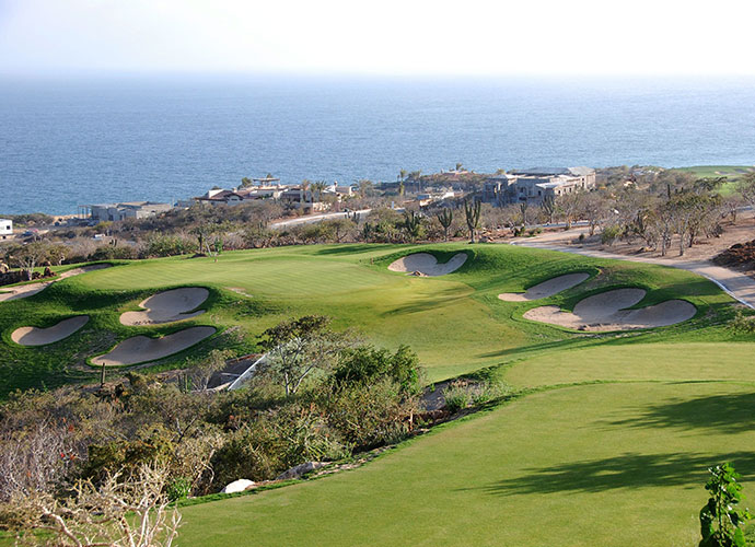 Puerto Los Cabos, Los Cabos                                 It may be home to the world's only Greg Norman/Jack Nicklaus course, but Puerto Los Cabos isn't a Shark/Bear collaboration. Instead, they are separate nines -- joined -- until the other nines are finished. The best course near the historic town of San Jose del Cabo is worth the effort, if only to play with 10 miles worth of beach panoramas.