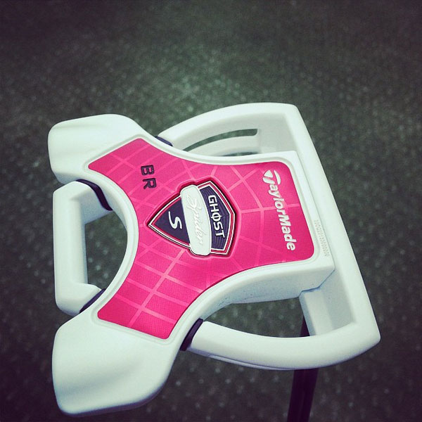 @BeatrizRecari: Thank you @sghostputter @taylormadegolf for sending me a new #SpiderS