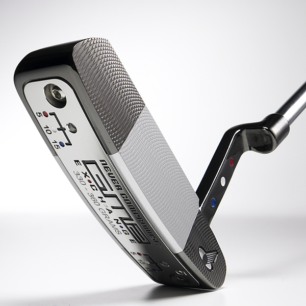 """ClubTest 2007: PuttersGOLF Magazine asked 40 golfers just like you to hit the newest putters on the market. Here's what our ClubTesters had to say.                                                                      Never Compromise GM2 Exchange #5                       $229; nevercompromise.com                                              We tested: 34"""", 35""""                                              • Go to Equipment Finder profile to tell us what you think and see what other GOLF.com readers said about this club.                                              Company line: """"CNC milled from 304 stainless steel with a plumberneck hosel. Interchangeable weights allow custom tuning to suit conditions, putting surfaces                       and player tendencies. Clubhead can vary from 320 to 370 grams.""""                       Our Test Panel says: Love the ability to adjust toe and heel weighting to compensate for right or left misses; two-tone head makes for a very effective sighting device; true feedback — you are told 'you missed it,' but not harshly; ball doesn't jump off face, requires a little oomph to get it to hole; long                       putts easy to judge.                                              Easy to swing, well-balanced and can feel the proper distance on contact. — Walt Spitzmiller"""
