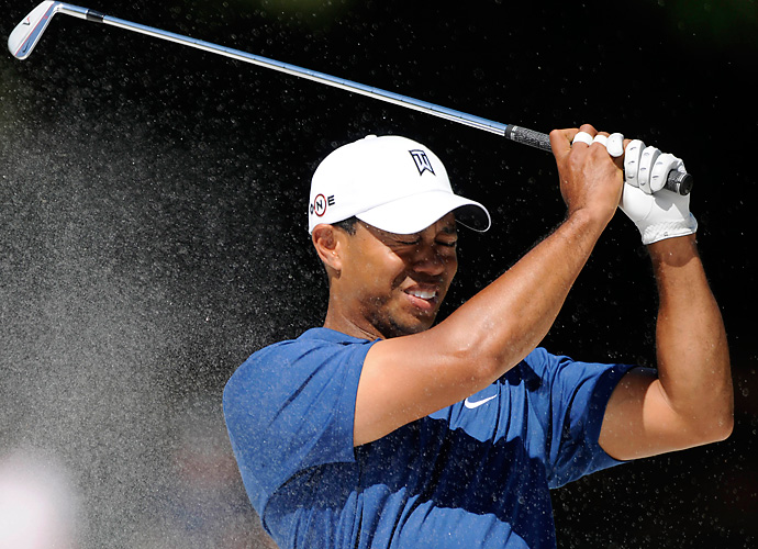 2010 Wells Fargo Championship: In his second tournament following a five-month break from professional golf after his sex scandal, Woods carded rounds of 74 and 79 at Quail Hollow and missed the cut.