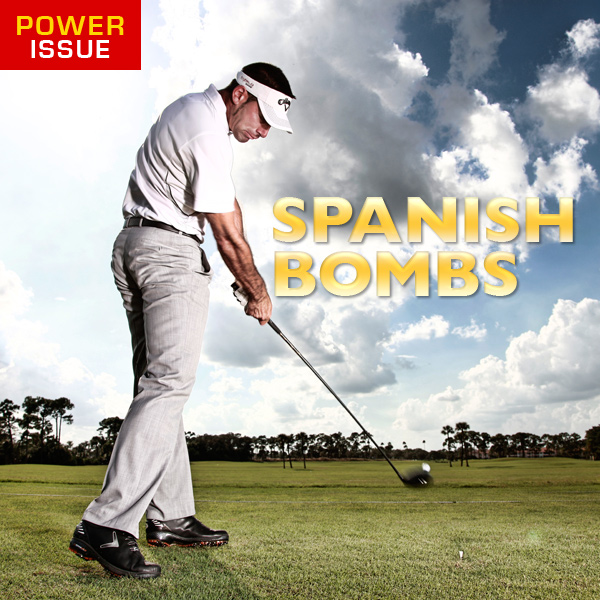 Alvaro Quiros:I love to hit driver. I was always the longest hitter among my friends growing up, and when I secured my European Tour card in 2006, I was able to keep the trend going, mainly by focusing on the four key moves you'll read about here. My driving power allows me to take an aggressive approach to scoring. I recently checked my stats and was pleased to learn that I'm second on the PGA Tour in going for par-5 greens in two (71.2%). This means I'm doing my job off the tee. I'm also leading the Tour in par-5 scoring average at 4.63, which, if you do the math, gets to me to 9-under per event just by playing the par 5s. If long holes are typically the ones that cause your scores to soar past your index, then heed my advice. An extra dose of power certainly pays.