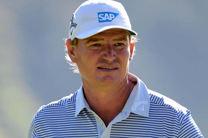 """""""I'm a great fan of Rory's, but I don't think that was the right thing to do.""""                     Ernie Els on Rory McIlroy walking off the course Friday after eight holes."""
