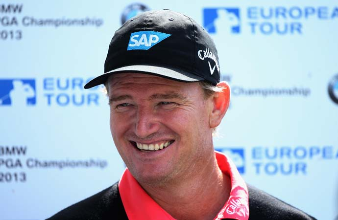 """I don't think so, no.""                       --Ernie Els on whether he could have won the 2012 British Open with a short putter."