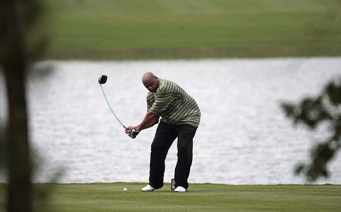 """I think the bookmakers are safe no matter what the odds are with Charles.  It's not going to happen.""                       --Hank Haney on Charles Barkley being a 500 to 1 long-shot to win the American Century Celebrity Golf Championship in Lake Tahoe."