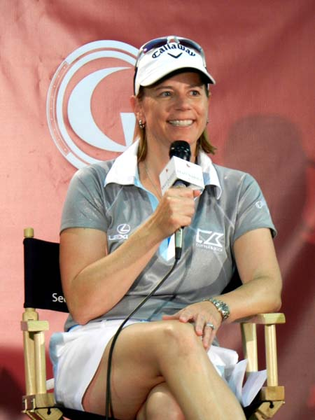 """There was a time when the LPGA really needed her. I thought she had a lot to bring to the table. Now she's one out of many.""--Annika Sorenstam on Michelle Wie in the May issue of Golf Magazine."
