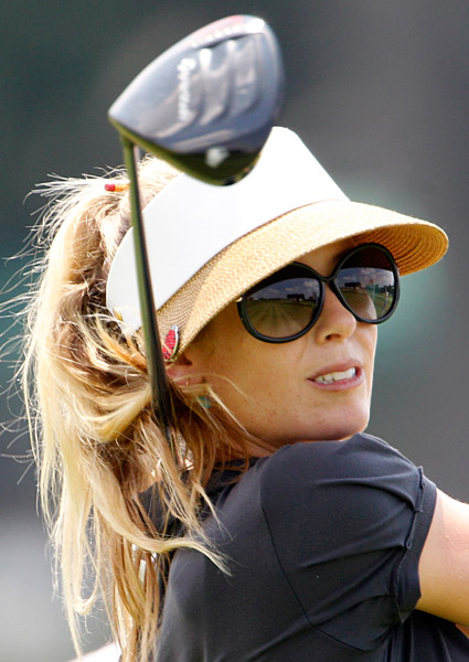 Rawson at the 2010 U.S. Women's Open at Oakmont.