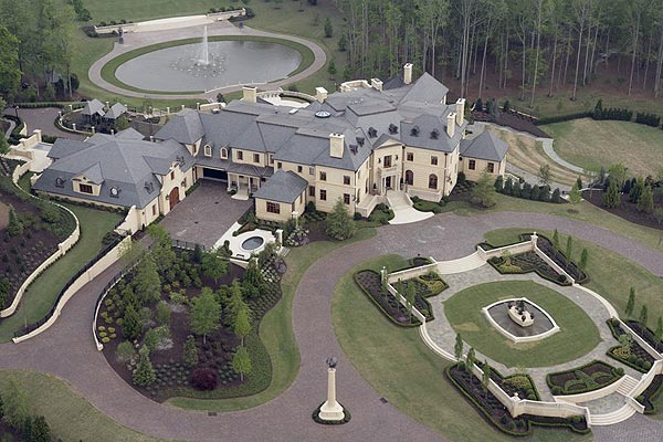 "A $45 Million Estate in Georgia                                              2015 Trammel Road                       Cumming, Georgia                       $45,000,000                                              This estate, called ""Le Reve,"" is located just north of Atlanta on 90 acres of land. The property includes a private golf course, lake, tennis court, stable, guest house and more.                                              The estate is listed by James Simons of Jenny Pruitt & Associates, Realtors."