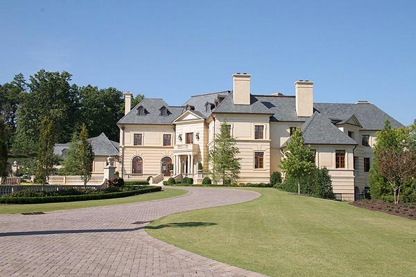 The 47,000-square-foot home has 82 rooms.