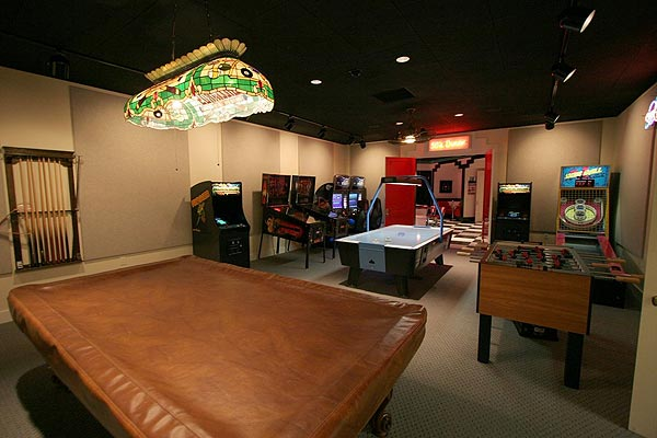 There is also a game room.