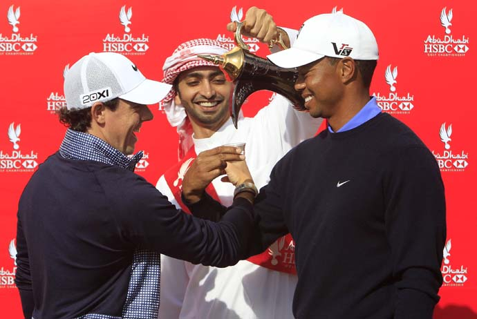 "Do you think Tiger really likes Rory?                      Yes: 76%                      No: 24%                     LOOSE LIPS:                      ""I don't think he really likes anyone."""