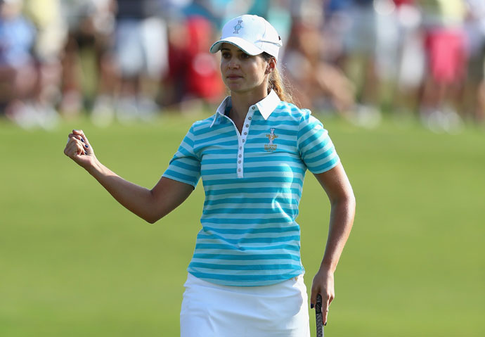 Last year, she notched her first top-10 when she finished 9th at the Evian Championship.