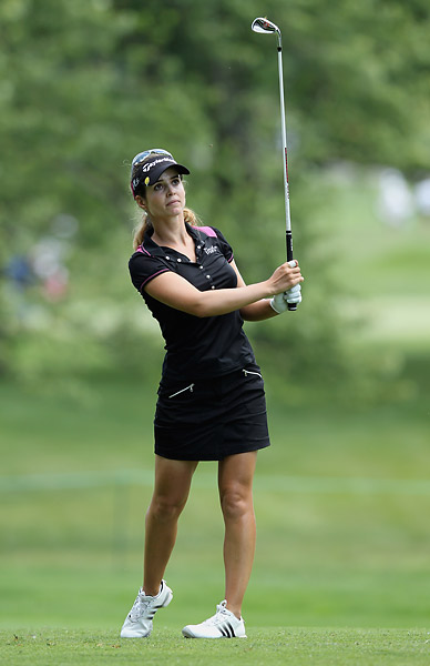 Beatriz Recari fired a three-under 69 to get near the top of the leaderboard.