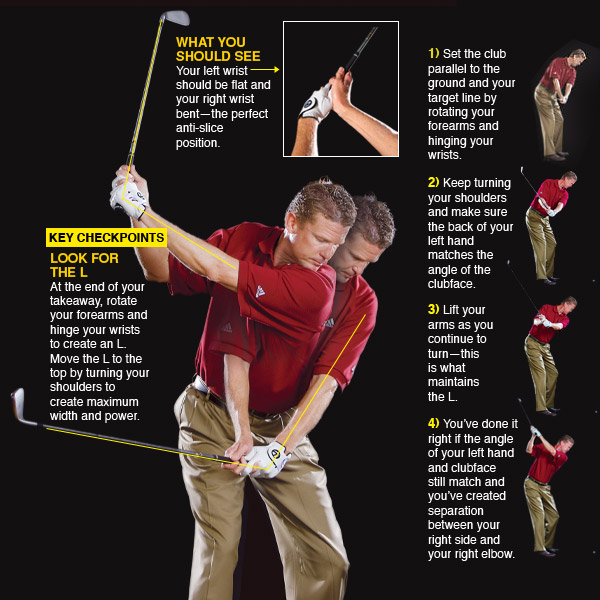 how to start golf takeaway